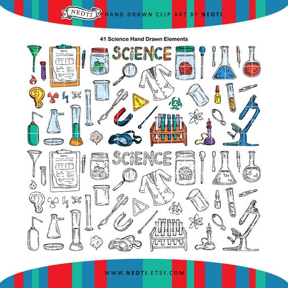 What Is Stem Lab In School: Items Similar To PNG Science Lab Doodle Clipart, Student