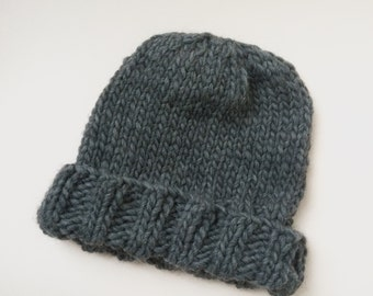 The Cuffed Wool Hat
