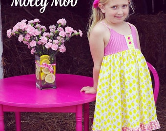 Pink Lemonade dress in sizes 12 months to girls size 12
