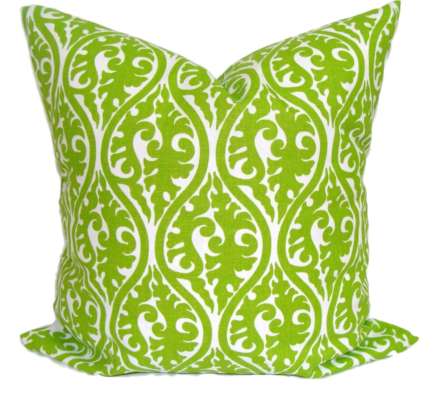 Decorative Pillows With Green : GREEN Pillow Green Pillow Cover Decorative Pillow Green