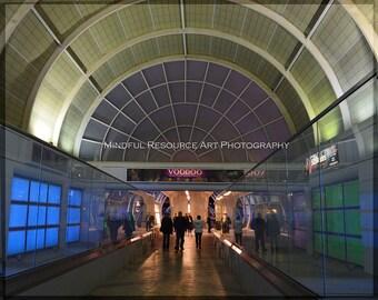 VooDoo Tunnel Photography Printable Digital Download Ballys Las Vegas Steet Photography