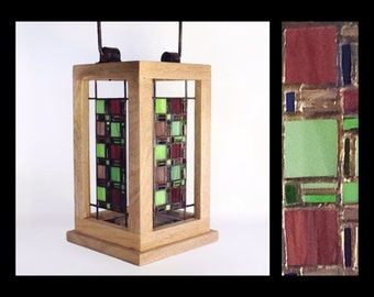 Fenestra - Stained Glass Lantern