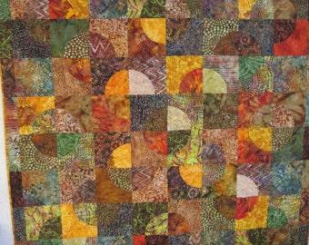 Autumn lap quilt