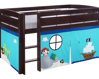 Bunk Bed Playhouse Bed Tent Loft Bed By Creativeplayshop