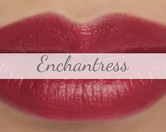 "Sample Vegan Lip & Cheek Cream - ""Enchantress"" (pink toned red lipstick / cream blush)"
