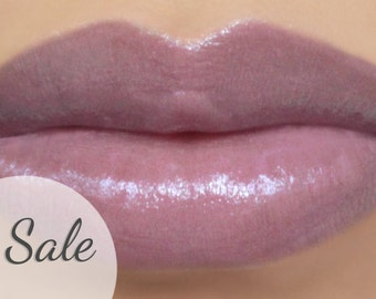 "25% OFF - Lipstick - ""Whisper"" (semi-sheer lilac/lavender purple vegan lipstick) natural lip tint, balm, lip colour mineral lipstick"