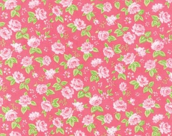 Sew and Sew Floral Garden Strawberry by Chloe's Closet- Moda
