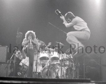 The Who 8X12 Photograph 1976