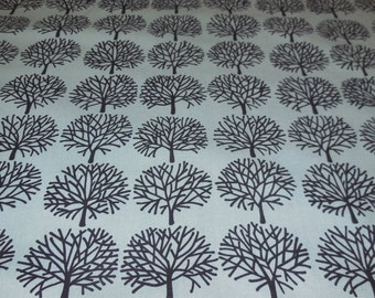 Ghastlie Forest Green and Black - Alexander Henry Fabric 1 Yard