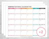 2016 Blog & Social Media Planning Printables