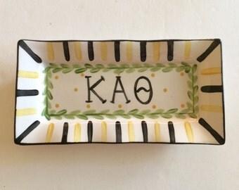 Kappa Alpha Theta Large Trinket Tray