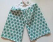 Turquoise Medallions Crochet Top Kitchen Towel Set of 2
