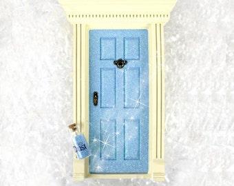 Fairy Door - Sparkly Blue