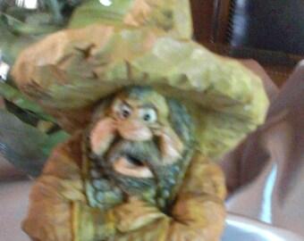 i don't need no sticken badge ,statue by chris hammond 1990's