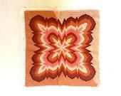 Vintage crewel / embroidery