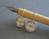 Alec and Magnus The Mortal Instruments City of Bones Earrings