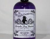Mr. Wigglebottom's Dog Shampoo- Made with Organic Aloe and Essential Oils- Vegan base- 16oz. bottle