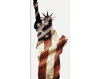 Lady Liberty | Contemporary Metal Patriotic Art