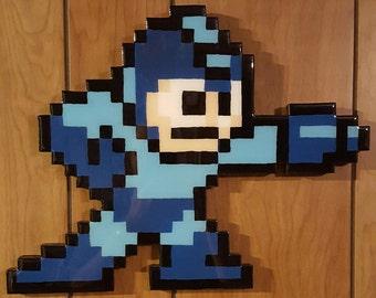 Wooden 8 Bit NES Megaman - The 3A Workshop