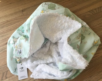 the chic baby blanket - sweet bunnies