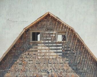 Modern Farmhouse Wall Art, Barn Photography, Rustic Fixer Upper Style Wall Decor, Barn Art, Country Decor | 'Through My Eyes'