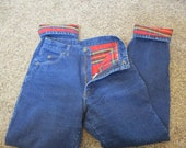 Womens flannel lined pants / jeansVintage L.L. Bean Flannel Lined Denim Jeans High WAISTED size 27 X 31 TAG SIZE 10
