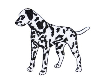 ID 2815 Dalmatian Dog Puppy Patch Pet Breed Animal Lover Craft Iron-On Applique