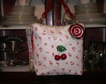 Springtime Cherries Handbag