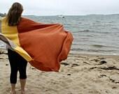 Linen Throw / Linen Beach Blanket