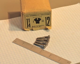 Stenman A B Eskilstuna  raised head screws