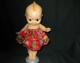 Vintage Composition Kewpie Doll  #1231