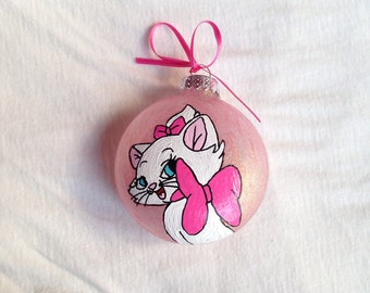 Aristocats Inspired Hand Painted Ornament