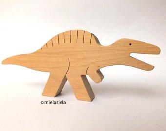 Handmade wooden toy Dinosaur - Spinosaurus