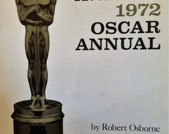 Book, Academy Awards 1972 by Robert Osborne