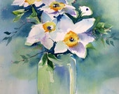 Essense of Spring Watercolor Print