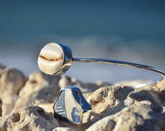 Hawaiian Sterling Silver Cuff Bracelet