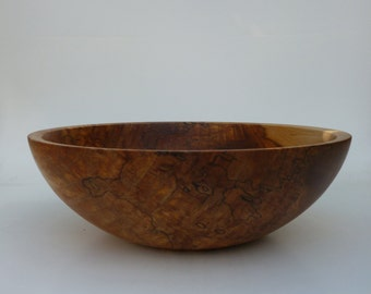 Wooden Bowl Red Gum Wood Bowl Hand Turned Salad Bowl