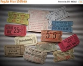 HUGE SALE Vintage and Antique Theatre Ticket Collection | Assorted Lot | Movie Theater, Cinema, Drive-In | LIMITED Supply