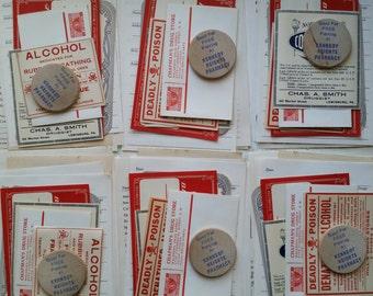 Vintage Medical Drug Store Ephemera Pack