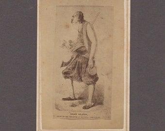 Engraved CDV of Vouko Golouba Marcovitch, Croatian Pirate