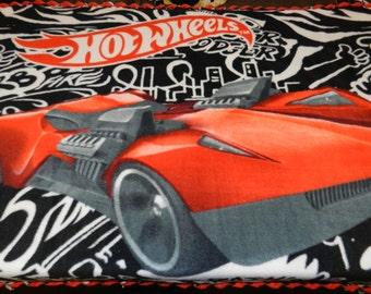 Hot Wheels Fleece Ties Blanket