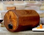 Wine Barrel - Wedding Reception - Gift Idea - Eco Friendly - Rustic Wedding - Maid of Honor Gift - Wine Decanter