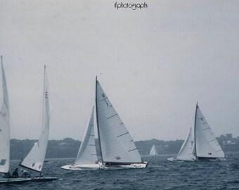 Vintage Sailing Photograph #2