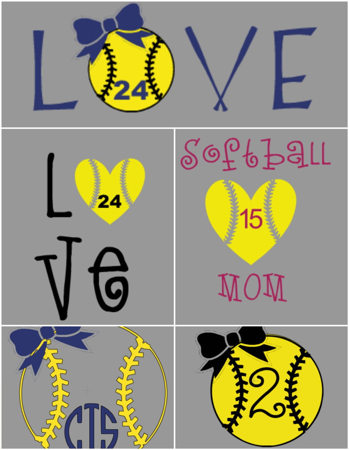 Softball Mom Iron On Heat Transfer Vinyl Decal Softball Mom