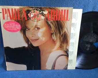 "RARE, Vintage, Paula Abdul - ""Forever Your Girl"", Vinyl LP, Record Album, Straight Up, Knocked Out, Original 1988 First Press, Pop Dance R&B"