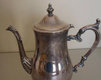 International Silver Company Coffee Pot Server Teapot Server, needs polish but a beauty