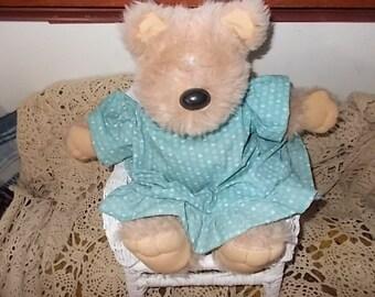 Bear, Graphics International Snuggables Heartline Bear 83, Snuggables Heartline Bear, Graphics International Bear, Vintage Teddy Bear :)Sio*