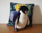 Vintage Stuffed Toy Penguin