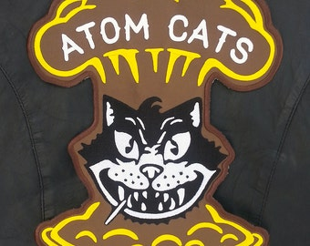 Atom Cats Patch Large Embroidered Fallout