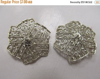 ON SALE SARAH Coventry Large Ornate Earrings Item K # 2016